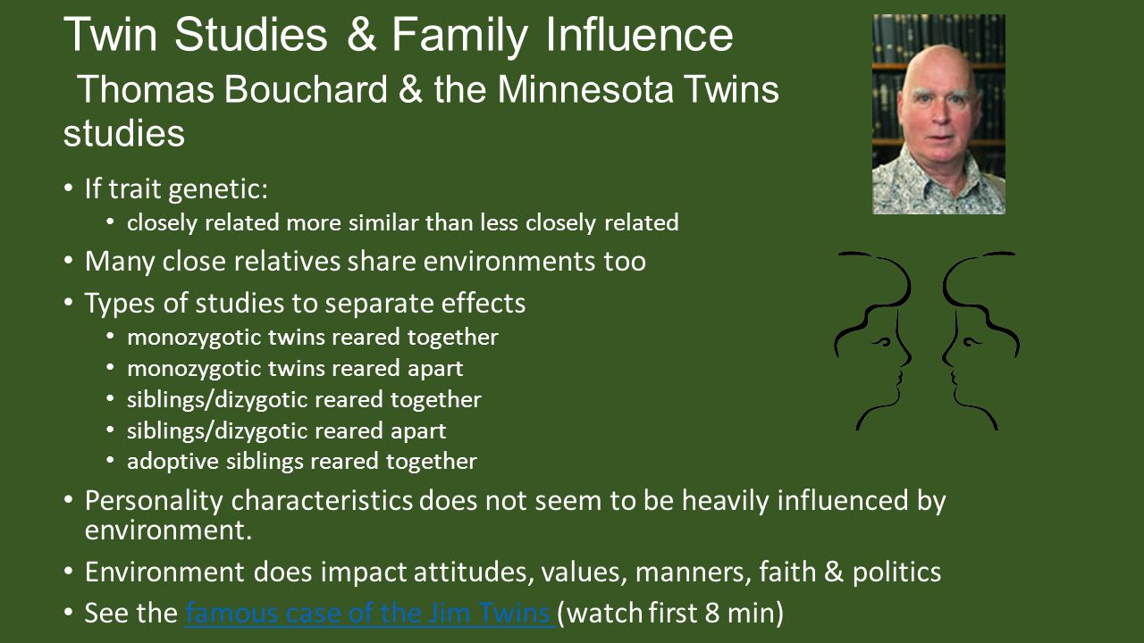genetic studies on twins