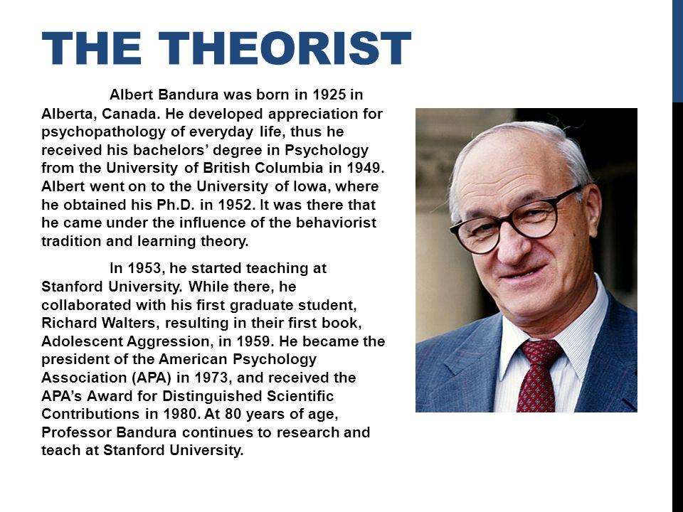 essays social learning theory of albert bandura