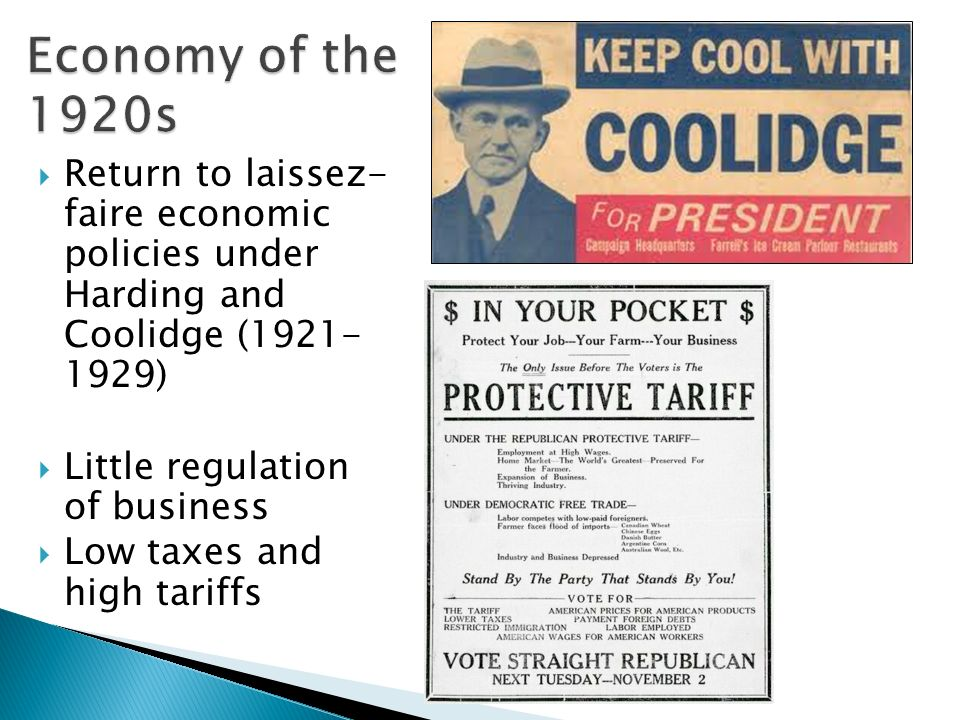 an analysis of american economy during 1920s The 1920's backwards planning printed in the united states of america • how did economic policies during the 1920s lead to the great depression 1.