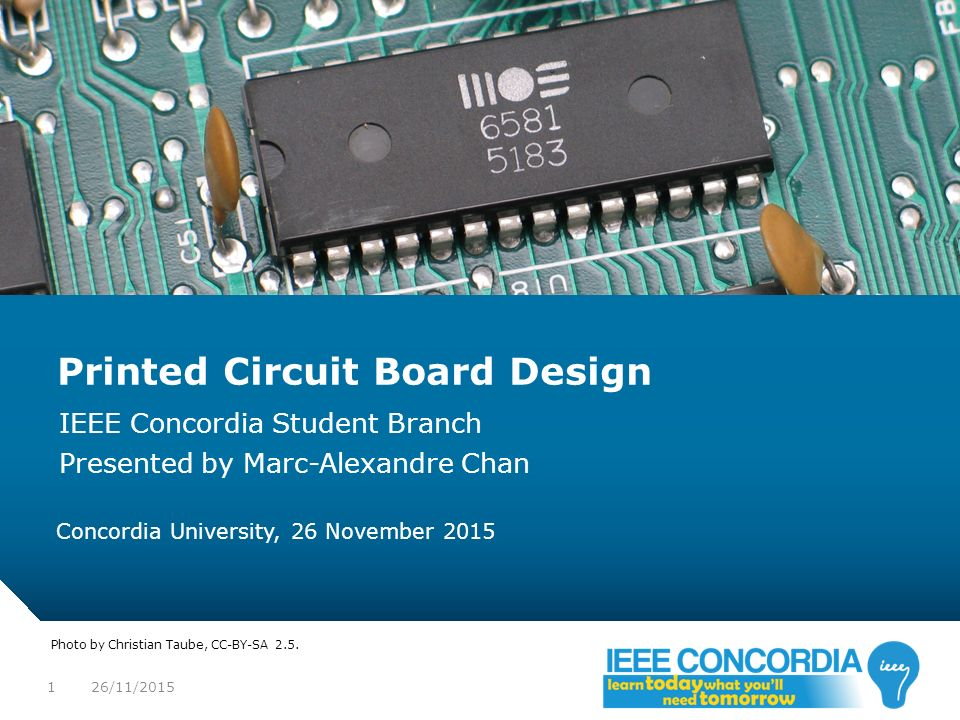 What is IEEE format for electrical component's paper presentation ?