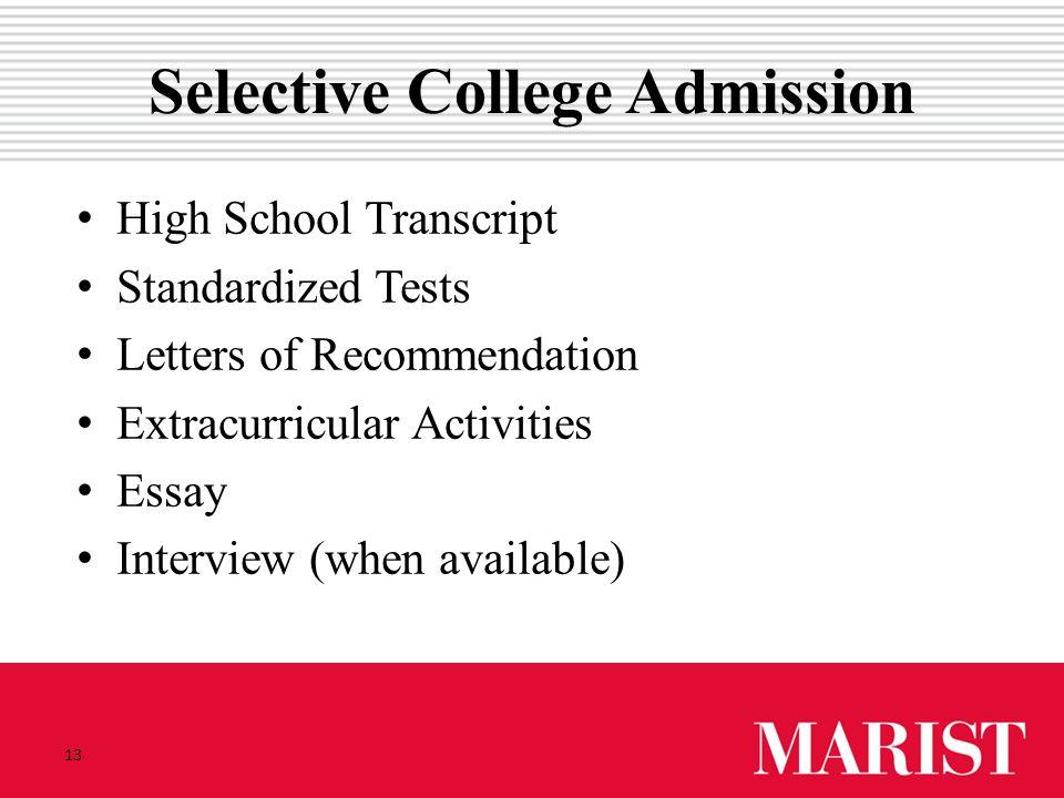 central high school application essay