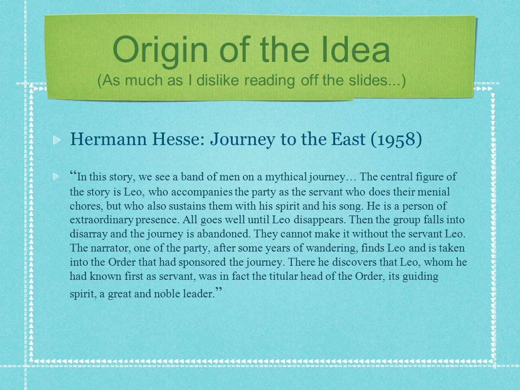 the origin of ideas essay This list of history essay topics is divided into 6 thematic subcategories: american history, art history, cultural history, european history, military hisread more here.