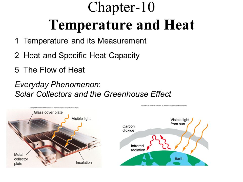 Worksheets Heat And Its Measurement chapter 10 temperature and heat 1 its measurement 2 specific heat