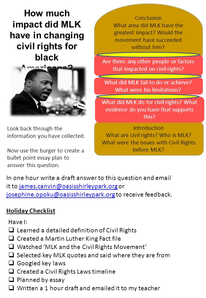 civil rights essay questions Civil rights questions for your custom printable tests and worksheets in a hurry browse our pre-made printable worksheets library with a variety of activities and quizzes for all k-12 levels.