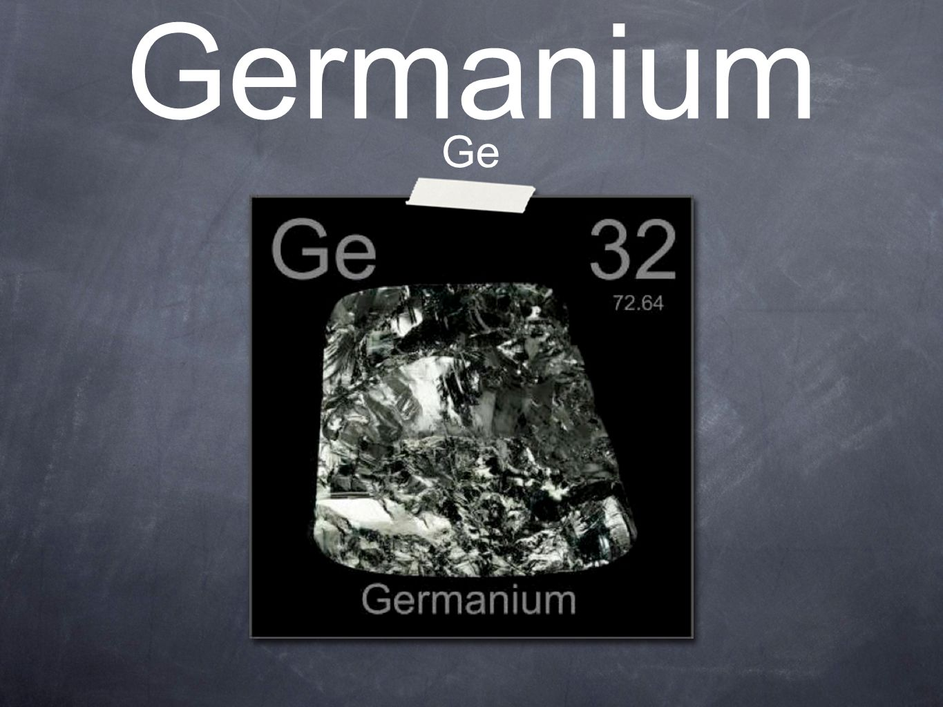 Germanium ge periodic table location on the periodic table 1 germanium ge gamestrikefo Image collections