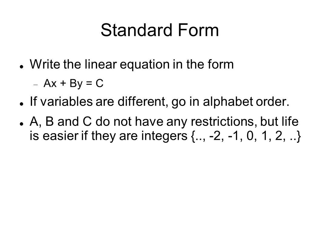 Section 86 elimination using matrices matrix method the method 3 standard form write falaconquin