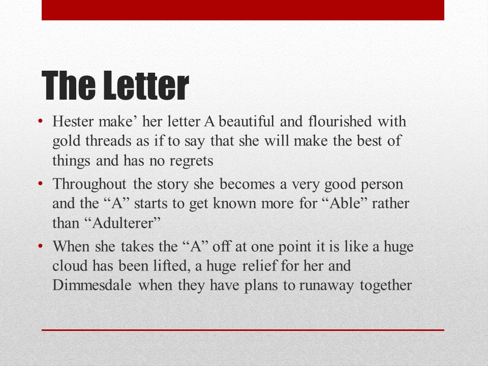 character analysis of hester prynne in the scarlet letter by nathaniel hawthorne