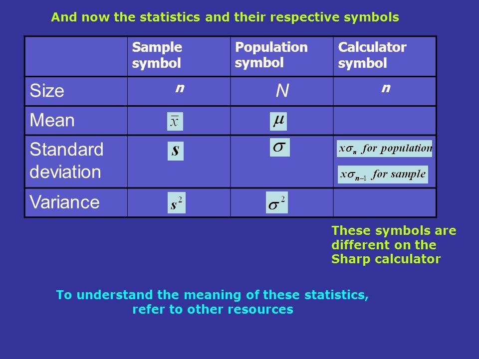 For Basic Statistics Using Casio Fx Ms Casio Fx Tl Casio Fx W Casio