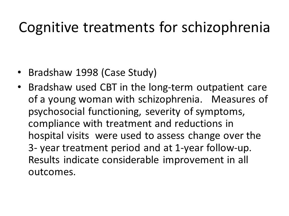 a case analysis of the characteristics and symptoms of schizophrenia