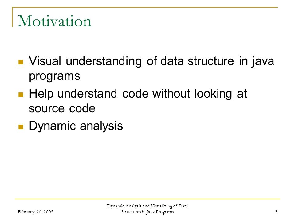 Dynamic Analysis and Visualizing of Data Structures in Java ...