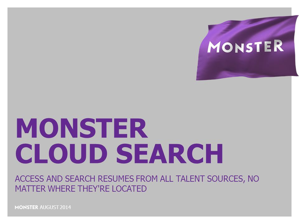 1 monster cloud search access and search resumes search resumes on monster