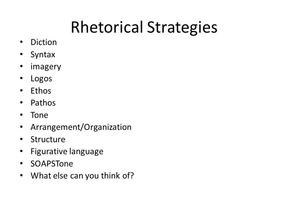 rhetorical analysis of a new way