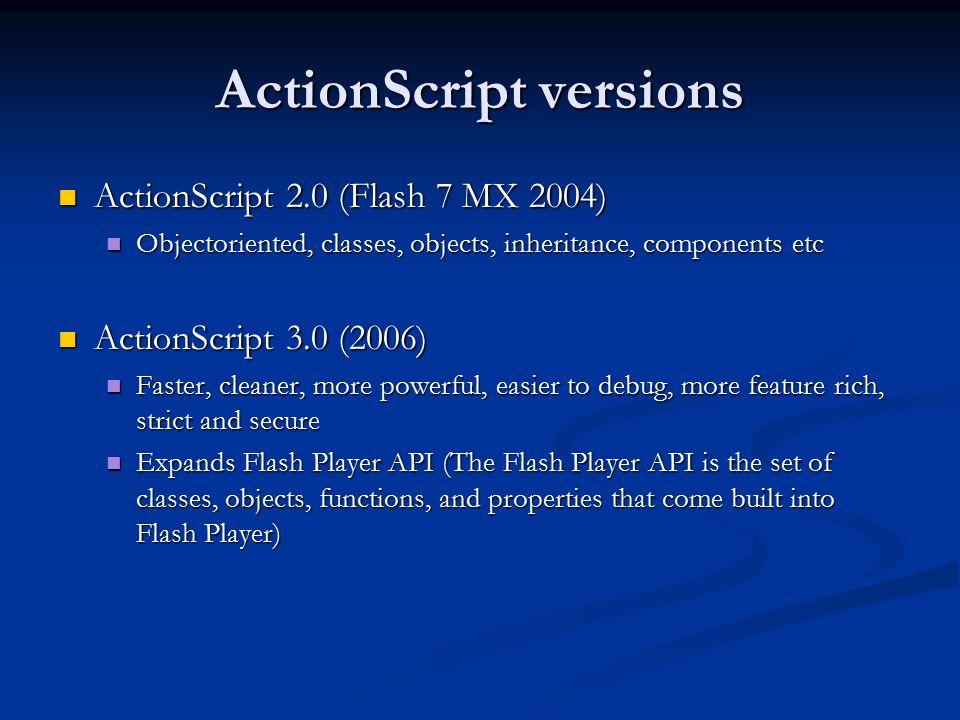 Программа Actionscript 3.0
