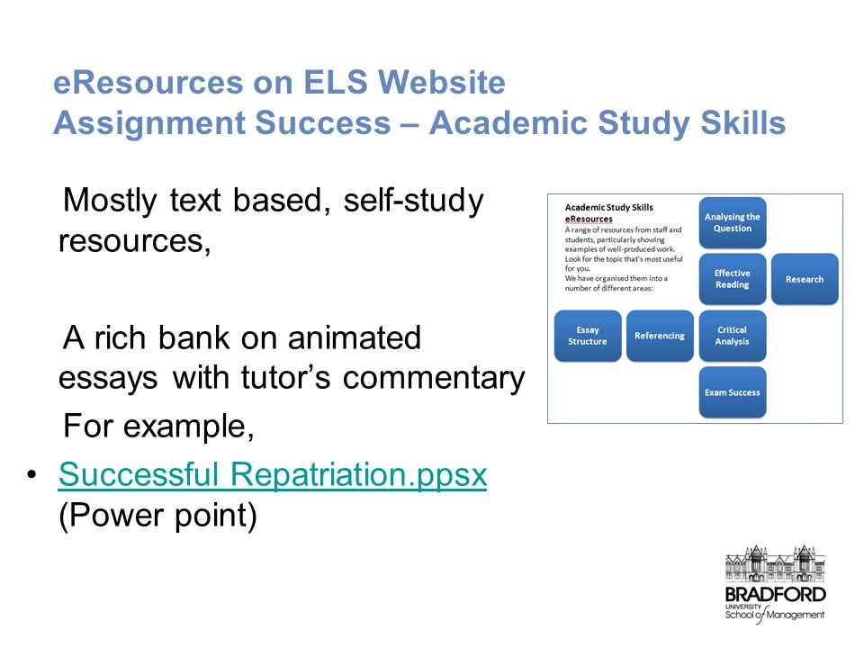 dtlls study skills assignment Reading assignments: crash course study skills #2 crashcourse loading crash course study skills #3 - duration: 10:52 crashcourse 300,563 views.