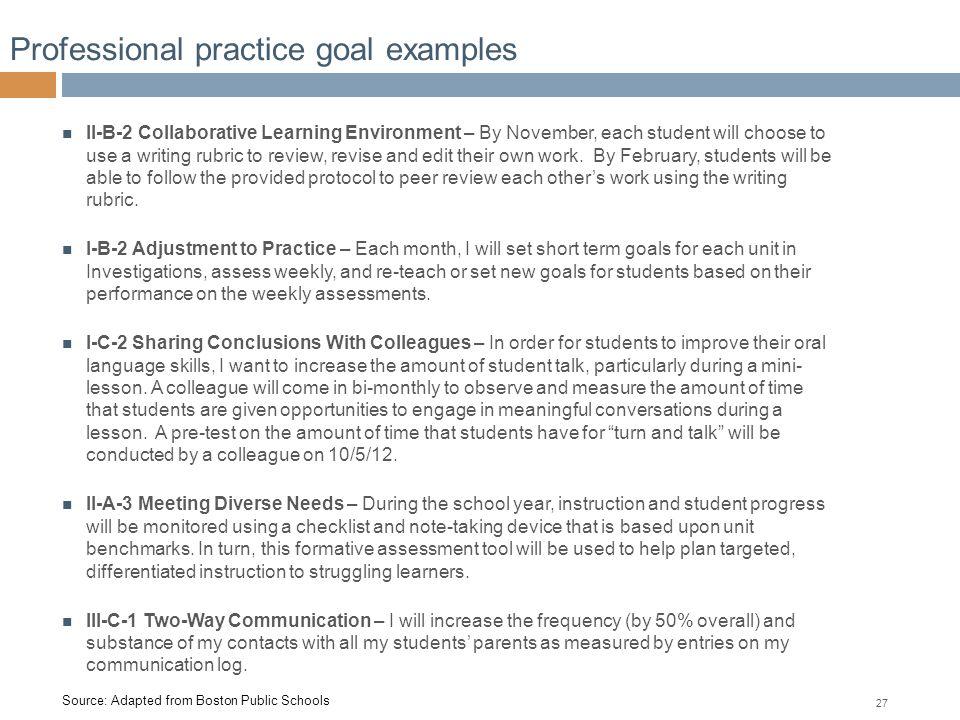 Springfield Public Schools Springfield Effective Educator