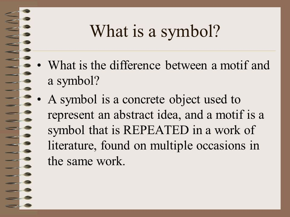 symbols and motifs how to identify symbols and motifs in  15 what
