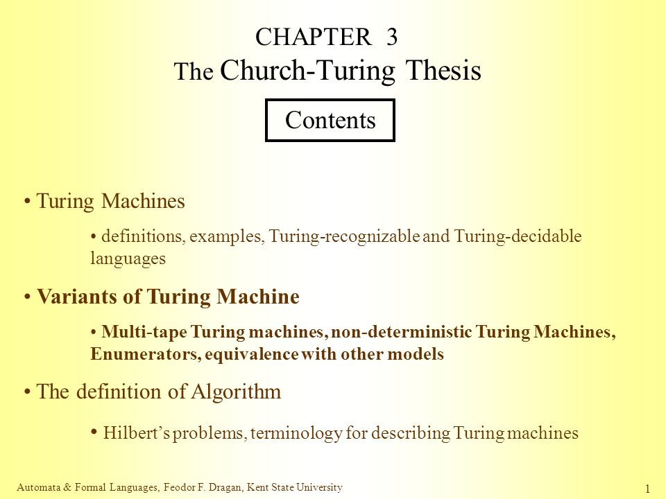 turing notes essay