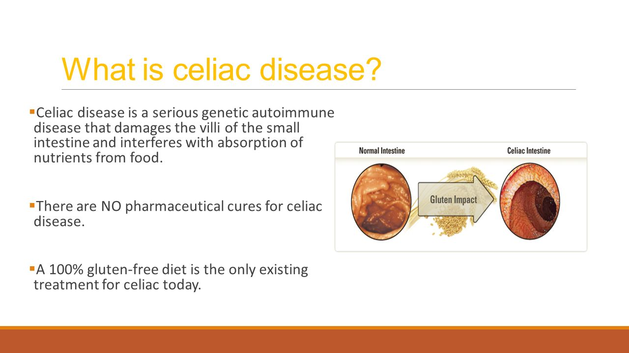 celiac disease Celiac disease facts and figures celiac disease is an inherited autoimmune disorder that affects the digestive process of the small intestine when.