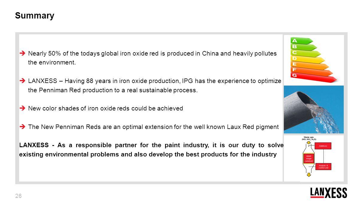 penniman process iron oxide