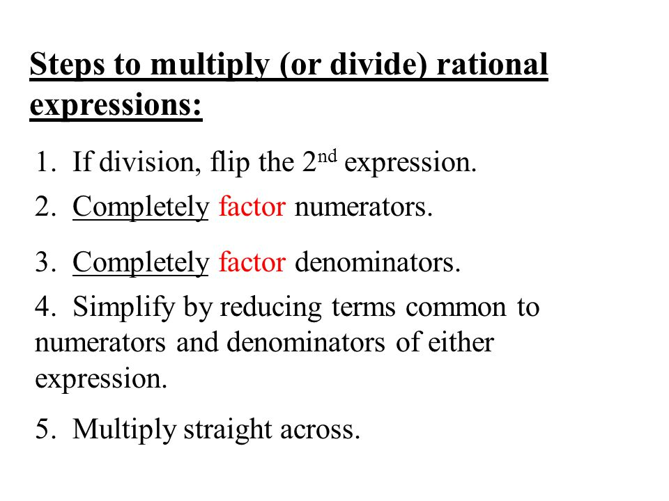 Definitions of the Day (DODs) 11.3b – Multiplying and Dividing ...