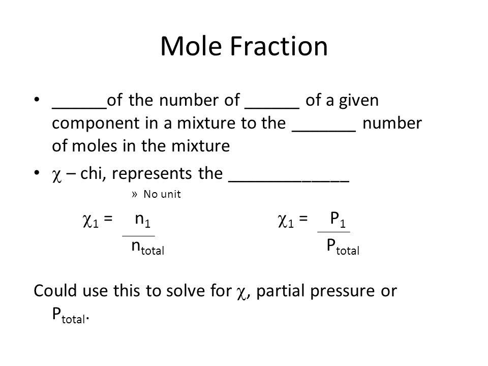math worksheet : mole fraction of gas worksheet  worksheets for education : Mole Fraction Worksheet