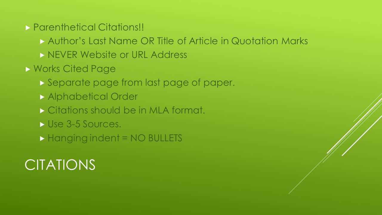 research paper citation page A guide to create citations for bibliographies and works cited in reference papers.