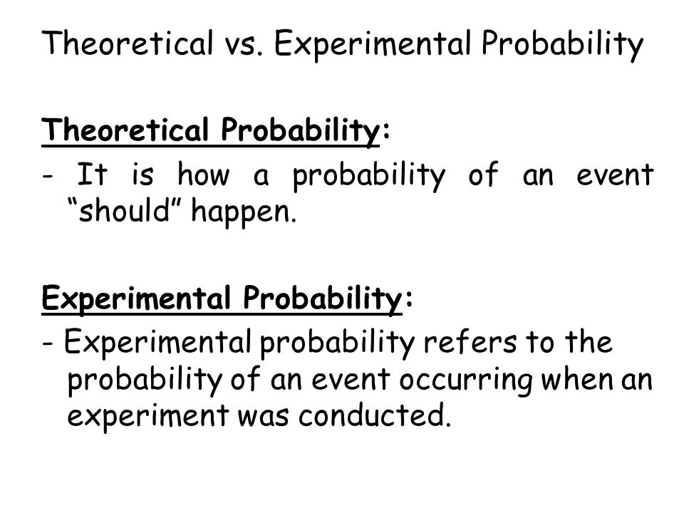 Theoretical And Experimental Probability Worksheet Rupsucks – Probability Worksheets 6th Grade