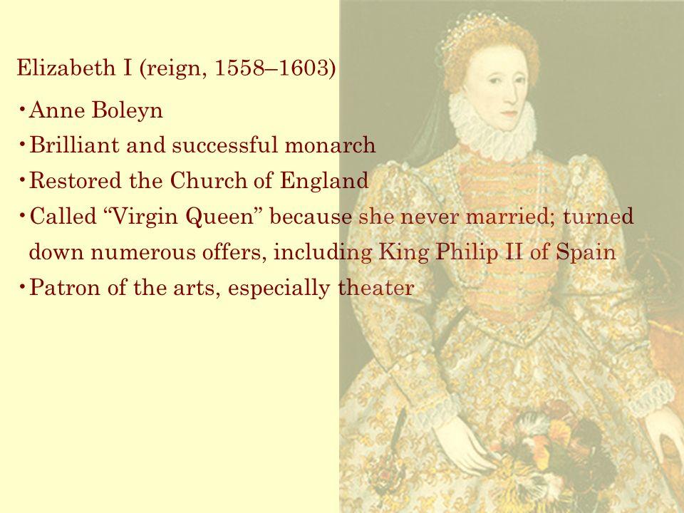 """influences of queen elizabeth i 1558 1603 The elizabethan era (1558-1603): a web quest english 9 regents i may not be a lion, but i am a lion's cub, and i have a lion's heart"""" - elizabeth i, queen of england 1558 -1603."""