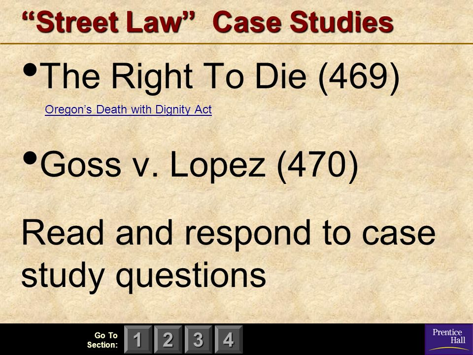 law case studies