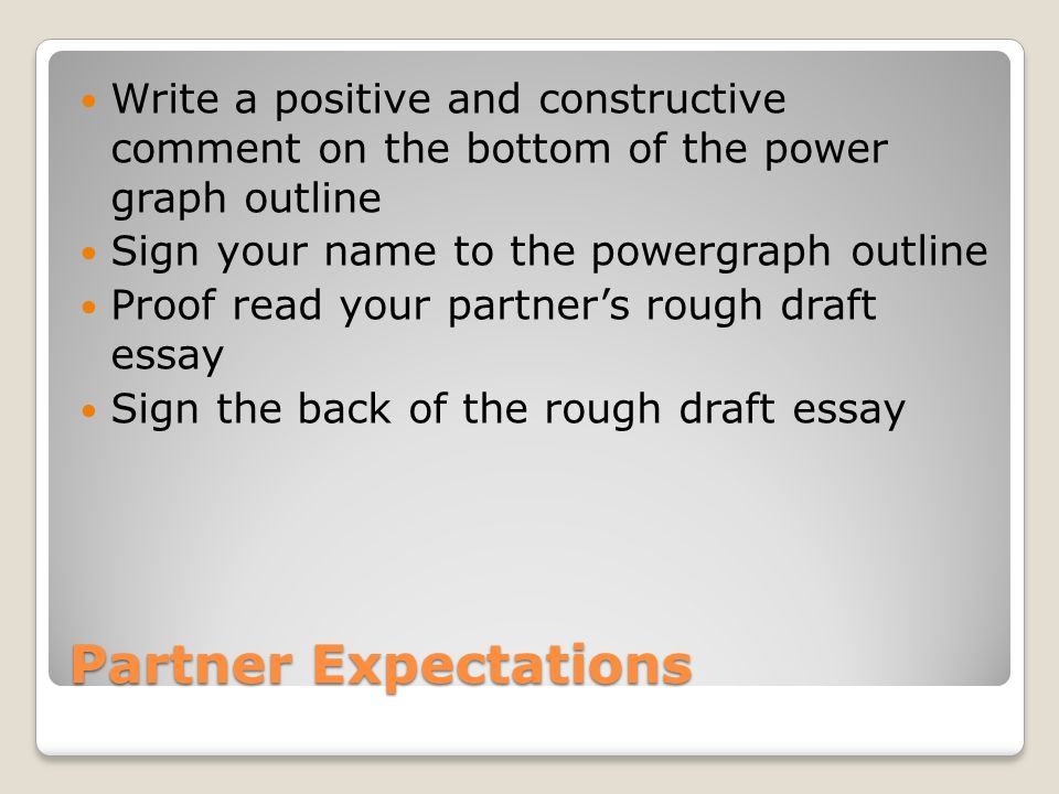 constructive essay comments