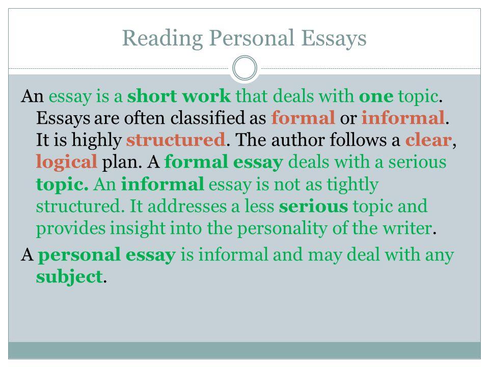 Critique Essay Topics