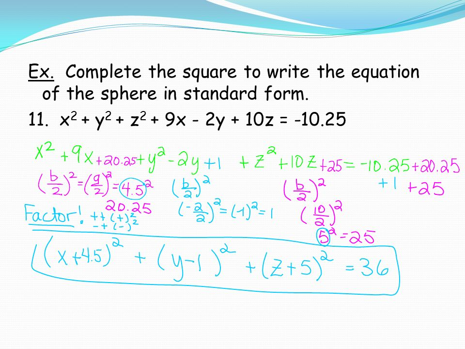 Math 3) 5.7: Use Figures in Three-Dimensional Space Unit 2 ...
