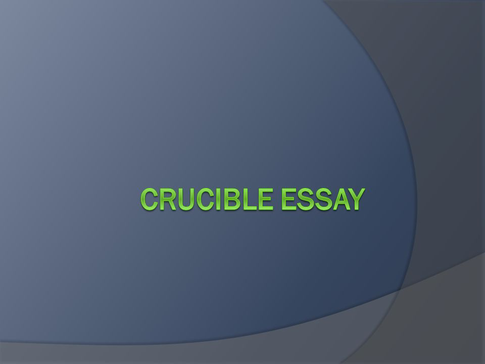 introduction  must the title and author of the work the  2 introduction  must the title and author of the work the crucible by arthur miller  must have an arguable thesis