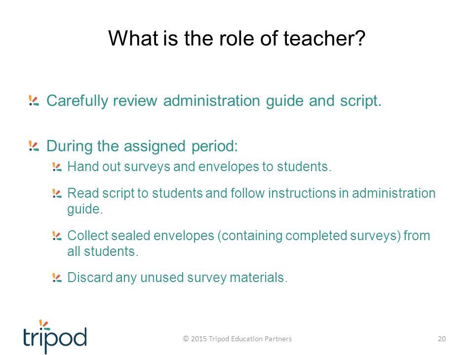 teacher survey for students