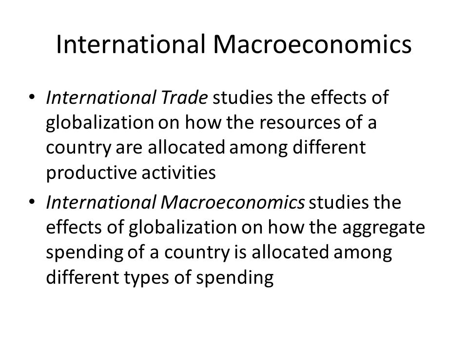 the different standpoints of viewing the effects of globalization on economy Globalization and educational change different theoretical claims about the globalization effect: from different theoretical standpoints in terms of.