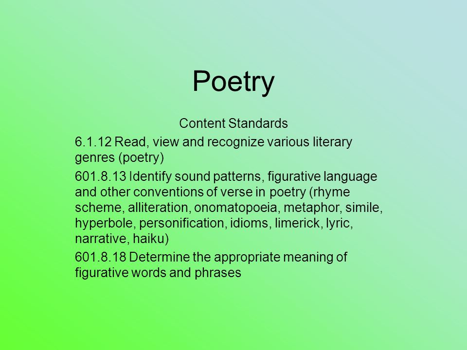 Lyric lyric poem examples : Language Poems Examples of Poetry for Language 2679537 ...