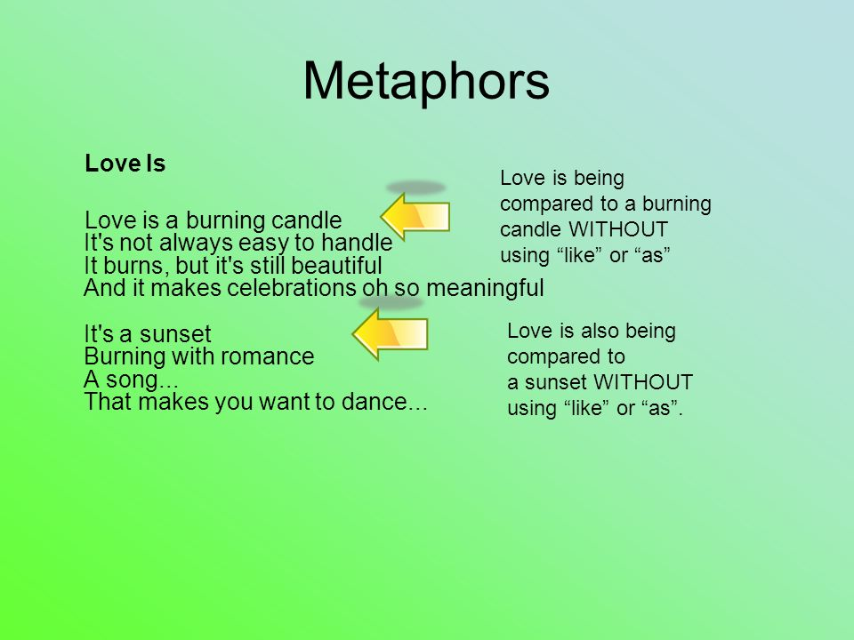 Examples Of Metaphors For Love Choice Image Example Cover Letter