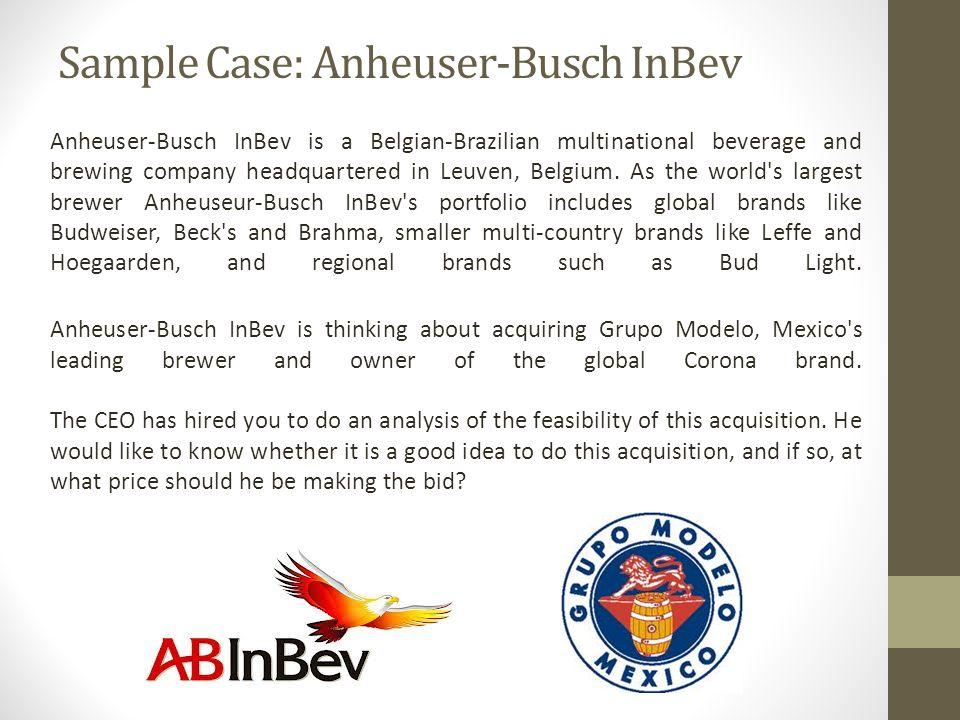 anheuser busch companies inc essay