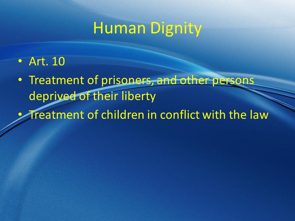 Human Dignity Art.