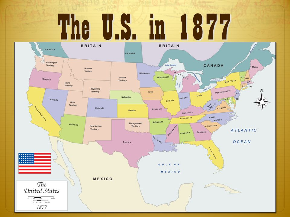 5 Http Www Mapsnworld Com America History Map Usa 1877 Html The U S In 1877