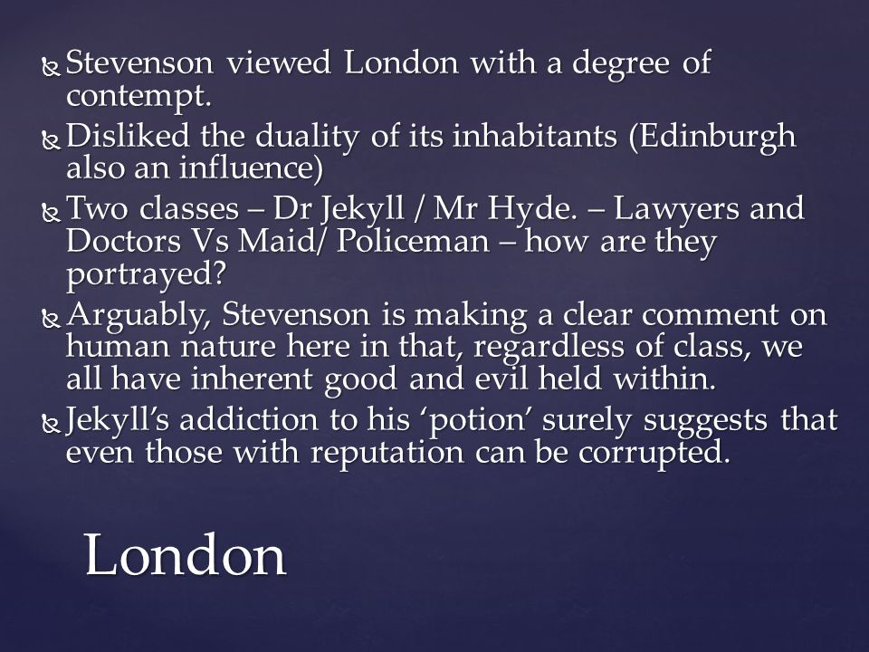 duality of human nature in macbeth and dr jekyll and mr hyde essay
