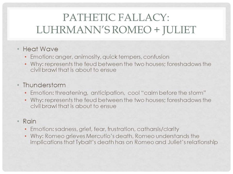 the great gatsby pathetic fallacy figurative language 6 pathetic fallacy luhrmann s romeo juliet