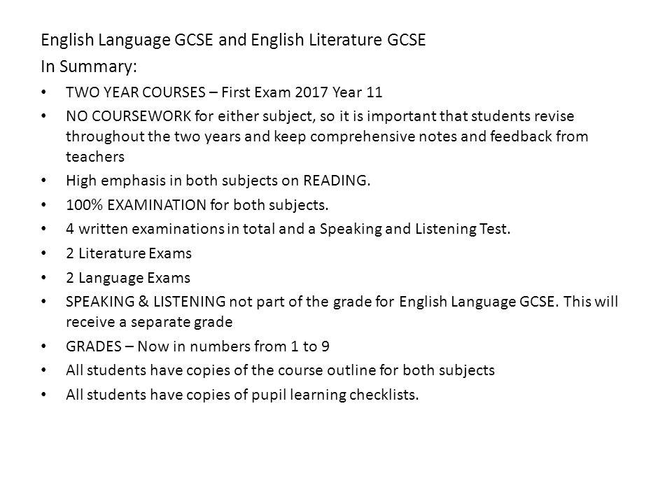 Gcse wjec english literature coursework?