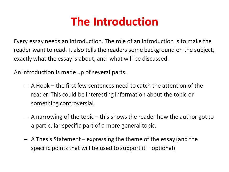 writing a closer look at academic essays the introduction every  the introduction every essay needs an introduction