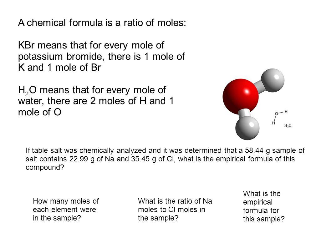 Salt Structural Formula