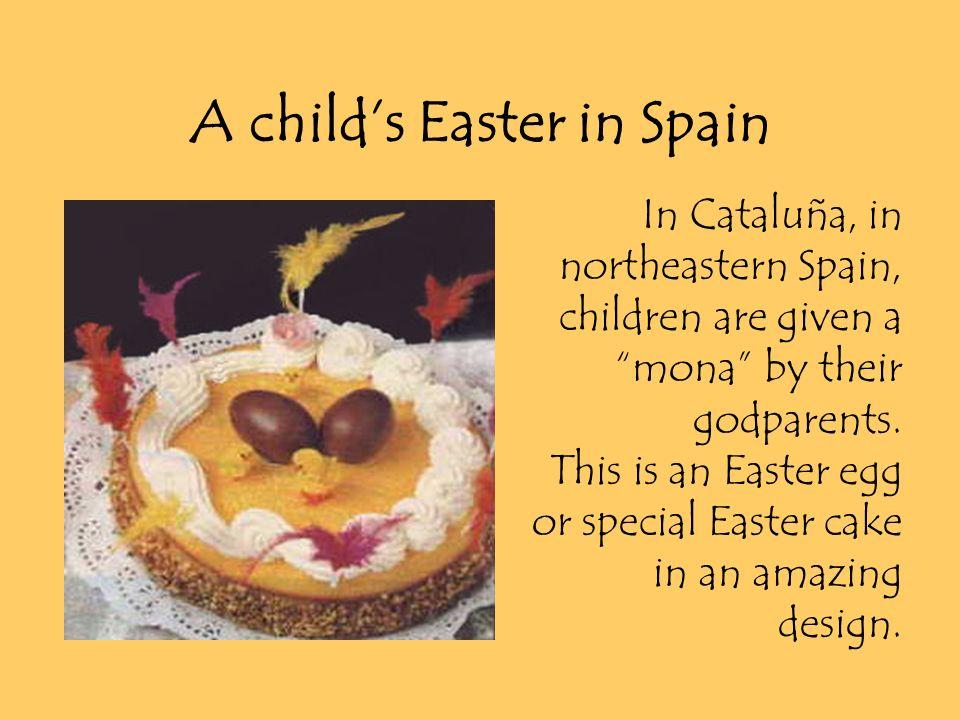 spanish mona easter cake