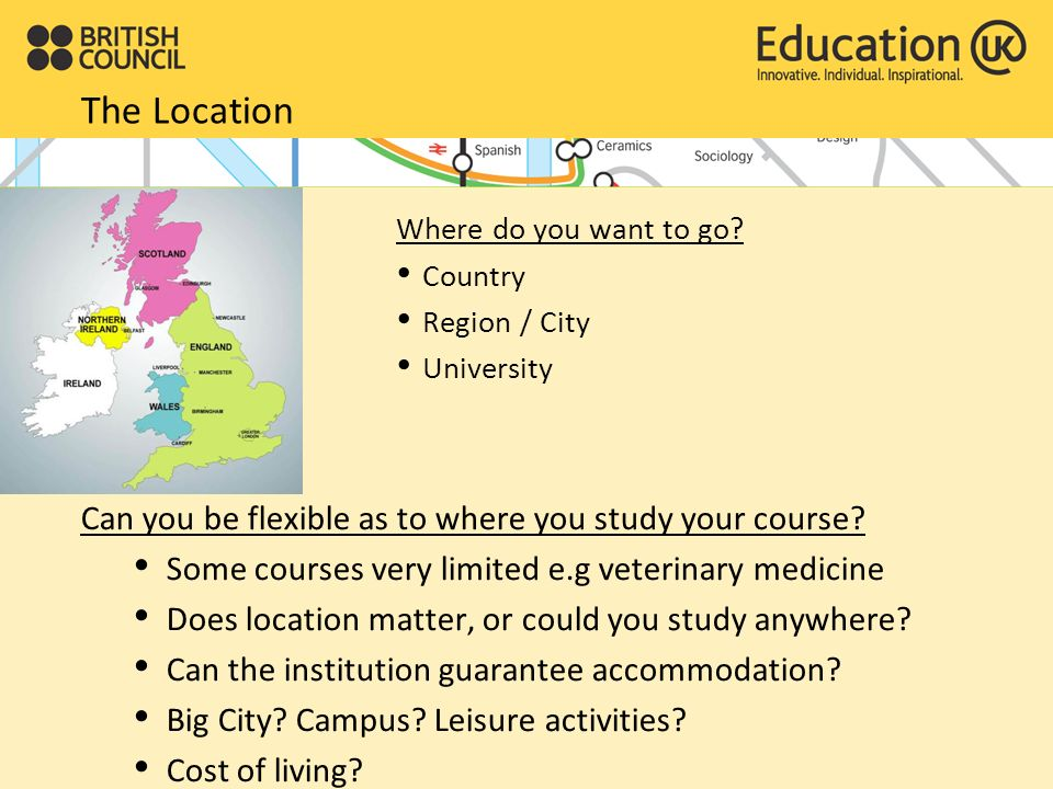 How to choose a university ?