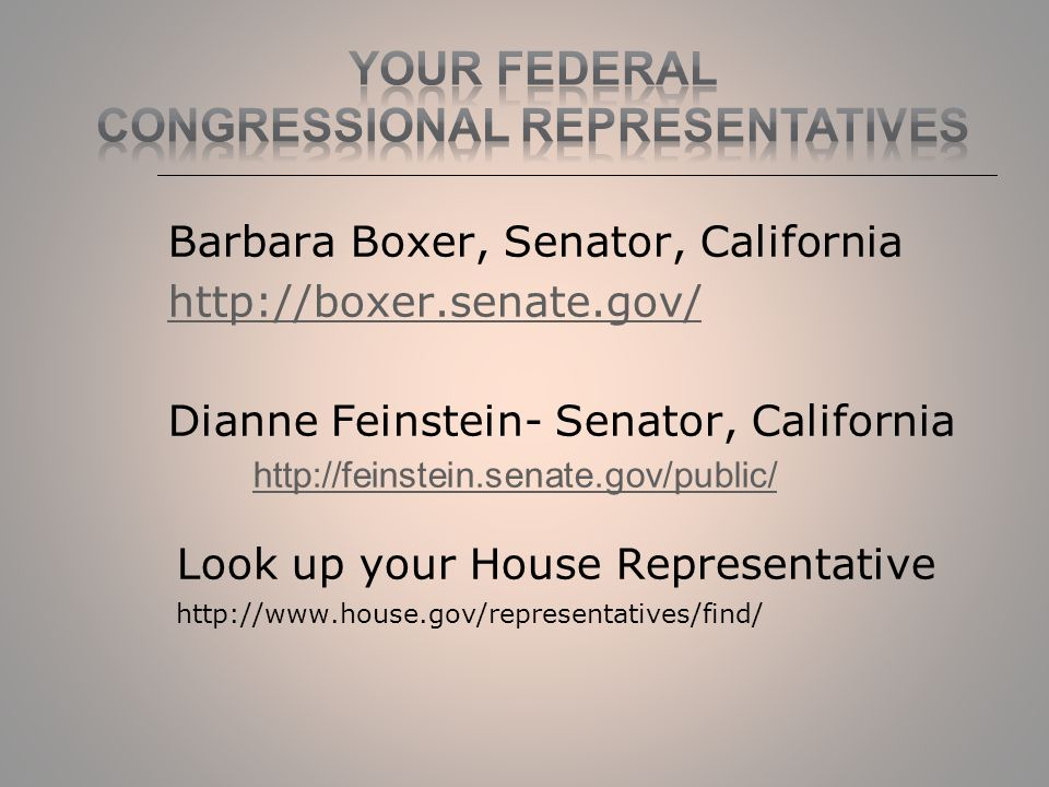 barbara boxer senator california