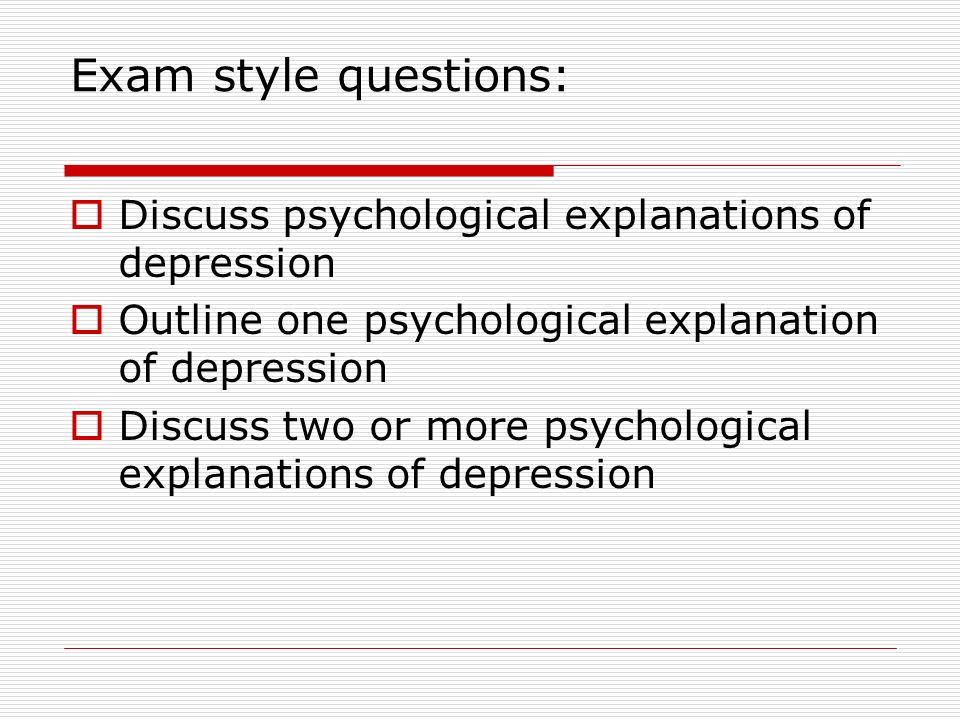 psychological explanations of schizophrenia essay