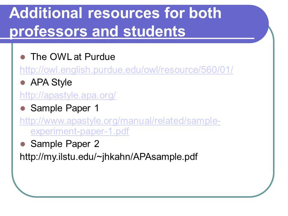 apa format exploratory paper